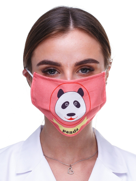 panda atemmaske motiv