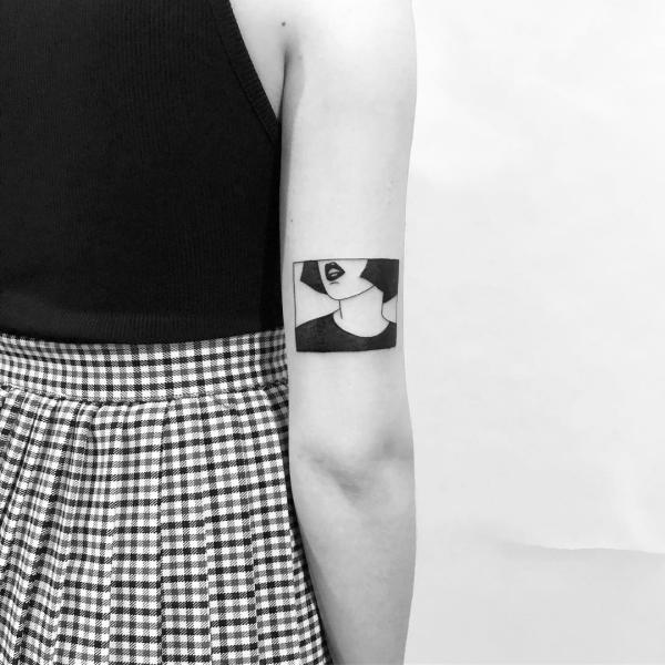 pop art stil tattoos 2020