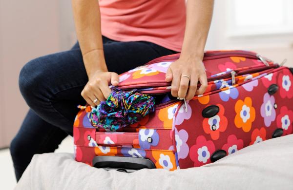 schön packen - koffer packen richtig - koffer packen