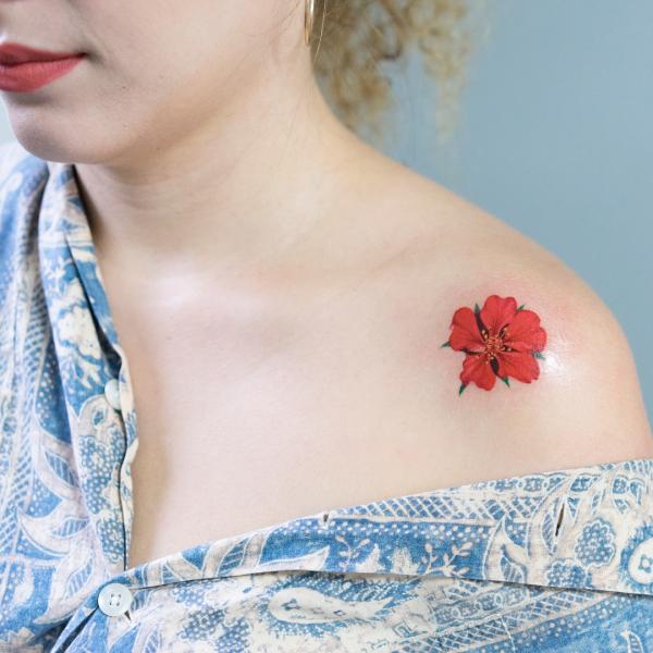 tattoos 2020 3 D farbige Ideen