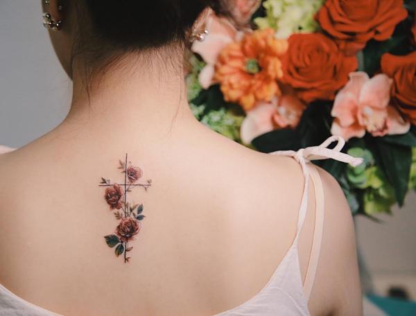 tattoos 2020 blumen accessoires