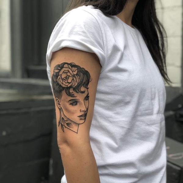 tattoos 2020 frauen bild porträt