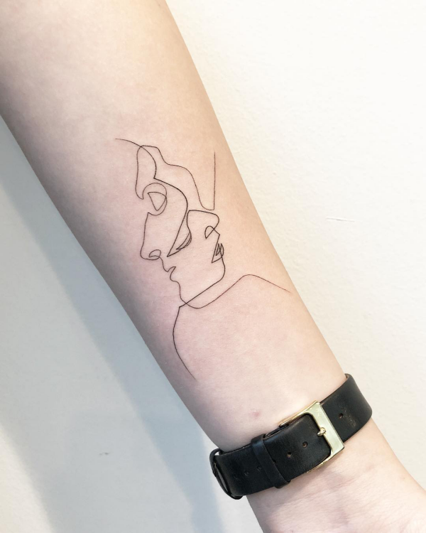 tattoos 2020 profil zeichnungen