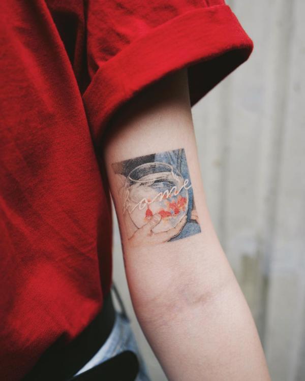 tattoos 2020 - schönes fabriges bild