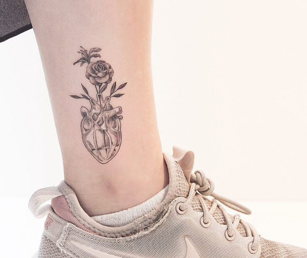 tattoos 2020 - tolle blumenmuster