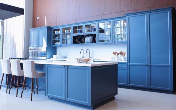 wohnideen - blaue möbel