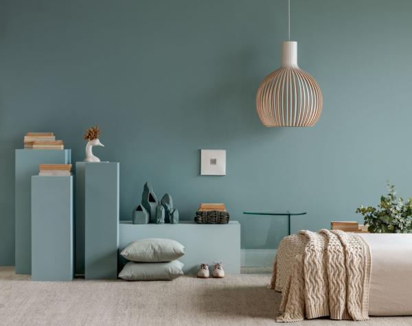wohnideen - schöne blaue wände