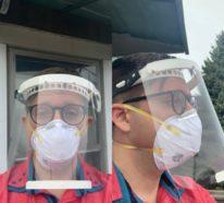 Coronavirus: Schutzvisier selber machen – 3 Anleitungen zur Auswahl