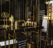 Badezimmer in Schwarz und Gold – ein Mix von Luxus, Stil und Extravaganz