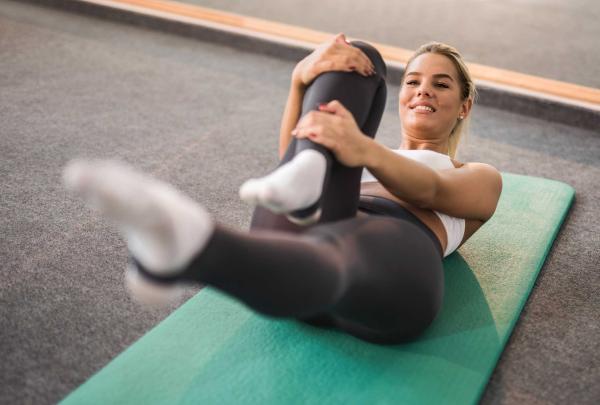 Bauch Trainieren Sport zuhause