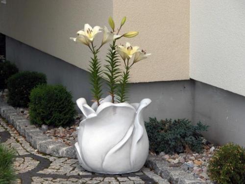 Betondeko Deko Beton Blumen Deko