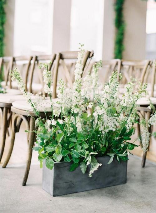 Betondeko festliche Dekoration Hochzeitsdeko