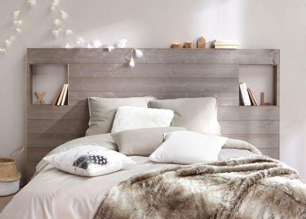 Bett Ideen Schlafzimmer komfortabel einrichten cocooning
