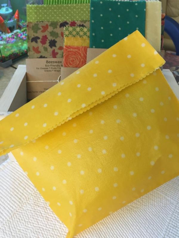 Bienenwachstücher selber machen Bienenwachstuch Tasche