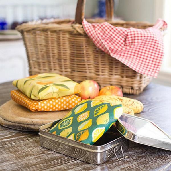 Bienenwachstücher selber machen Zero Waste Küche