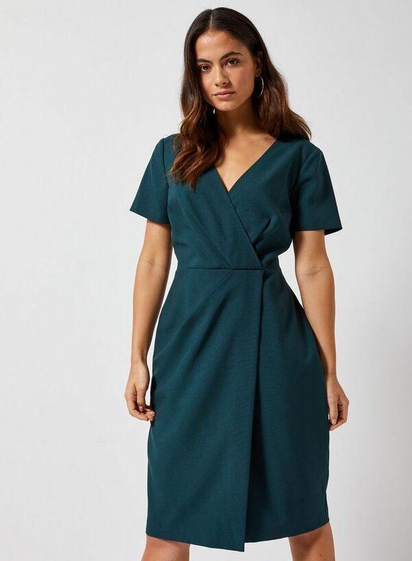 Blaugrüne Sommerkleider fabelhaftes Outfit