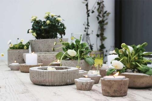 Blumen Ideen - Betondeko