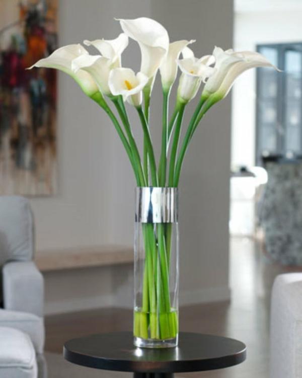 Calla Blume Blumenstrauß Zimmercalla