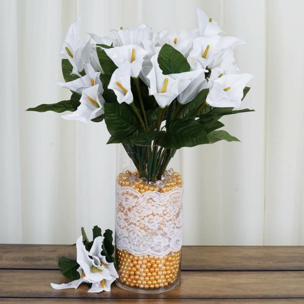 Calla Blume Zimmercalla Deko Ideen mit frischen Blumen