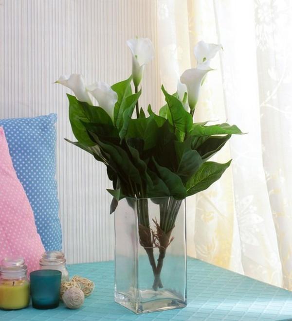 Calla Blume Zimmercalla Pflege Blumenstrauß