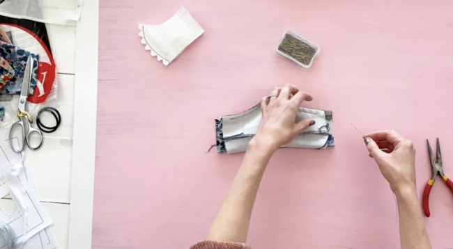 DIY Mundschutz Atemschutzmaske mit HEPA-Filter selber machen