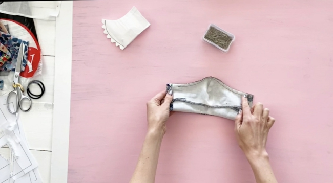 DIY Mundschutz Atemschutzmaske mit HEPA-Filter