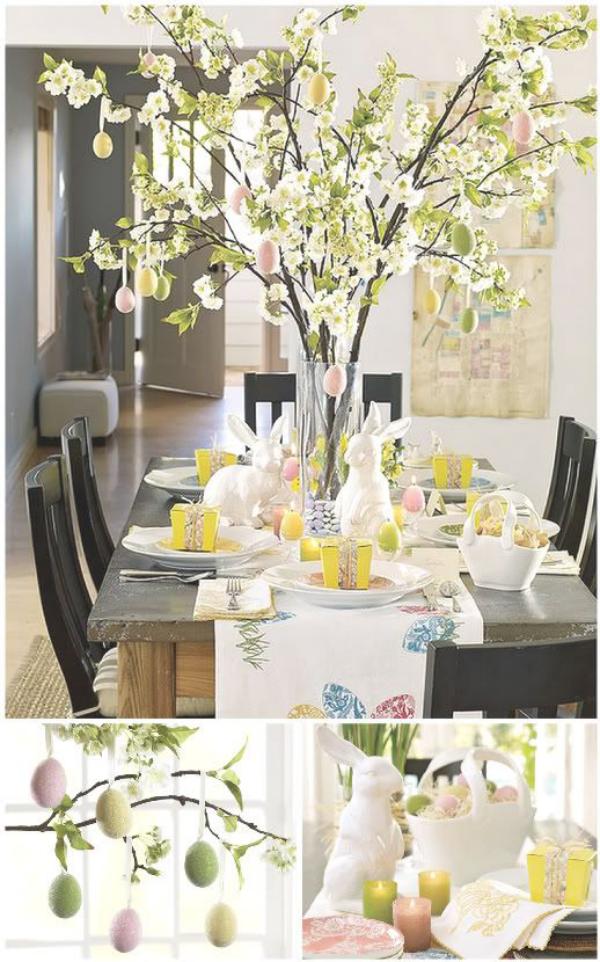 Der Frühling ist da - Ostern-Tischdeko