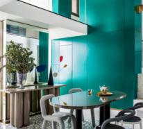 Einzigartige Designerwohnung punktet mit kreativem Design und perfekter Raumplanung