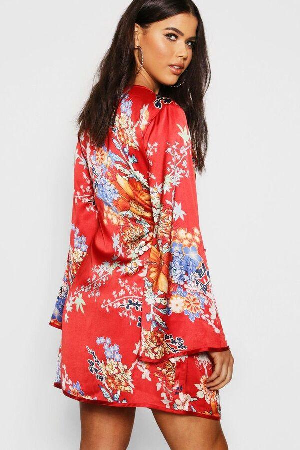 Gemustertes Kleid - Sommerkleider