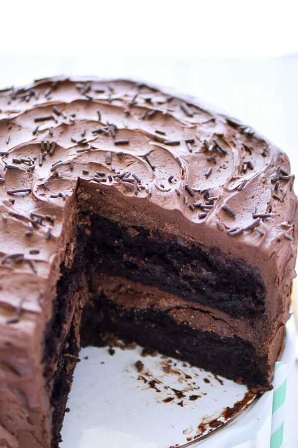 Glutenfreier Schokokuchen backen glutenfreier Kuchen
