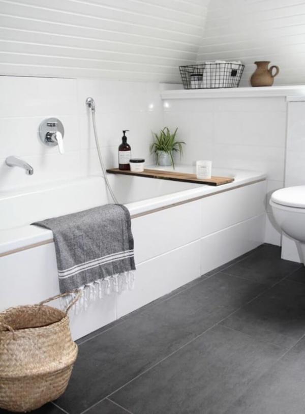 Hygge Badezimmer Trend Ideen für mehr Gemühtlichkeit