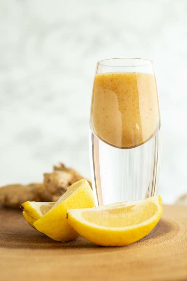 Ingwer Shot Rezept Zitronensaft Orangensaft