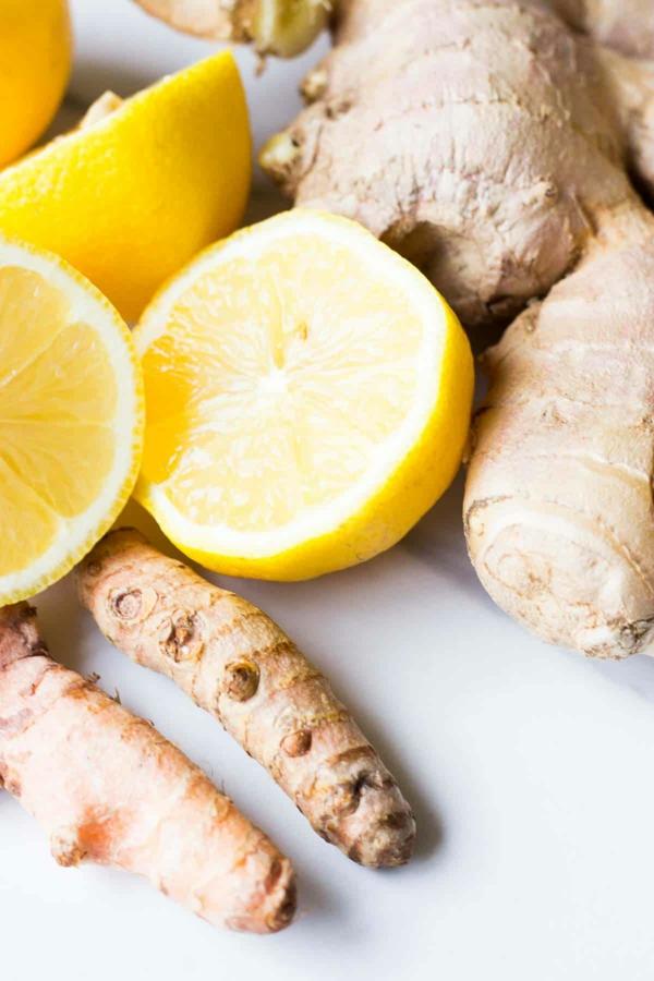 Ingwer Shot Rezept Zitronensaft Zutaten