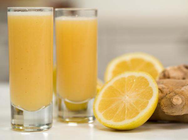 Ingwer Shot Rezept Zitronensaftgesunde Getränke
