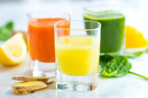Ingwer Shot selber machen Rezept Immunsystem Superfoods