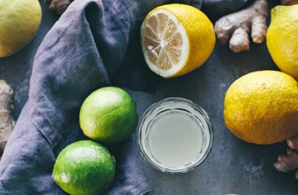 Ingwer Shot selber machen Rezept Zitronen Ingwerwurzel