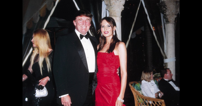 Melania Trump Donald Trump ein verliebtes Paar 1998