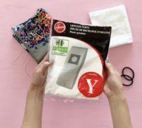 Mundschutz selber nähen: Anleitung für Atemschutzmaske mit HEPA-Filter