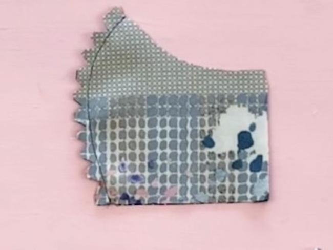 Mundschutz selber nähen DIY Atemschutzmaske HEPA-Filter