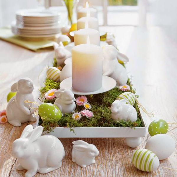 Osterhasen DIY Deko Ostern 2020 Ostern-Tischdeko
