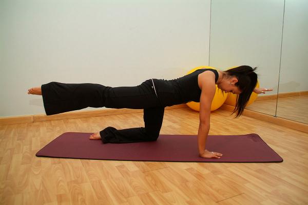 Rücken Stärken Übungen Sport zuhause