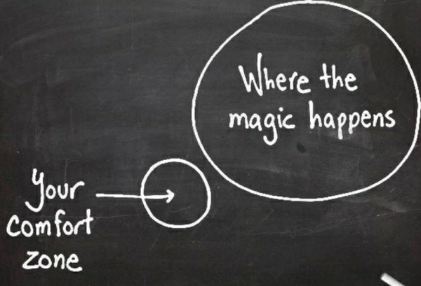 Selbstmotivation Komfortzone verlassen Ziel erreichen