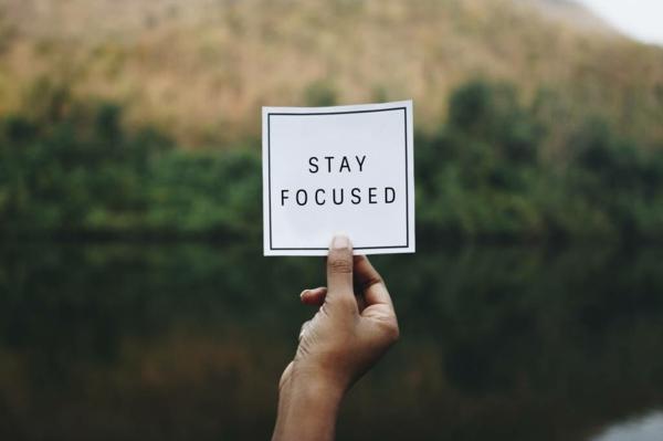 Selbstmotivation fokussiert bleiben Ziel erreichen