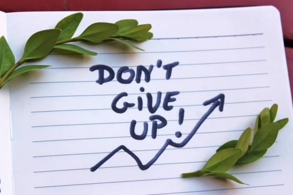 Selbstmotivation nicht aufgeben Ziel erreichen