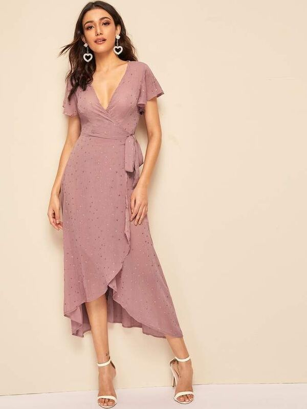 Sommerkleider - Schönes Kleid in Rosa