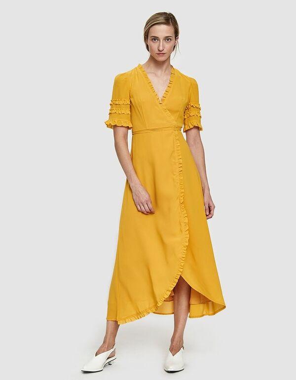 Sommerkleider - offizielle gelbe Kleider