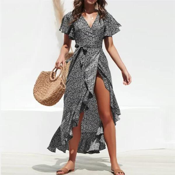 Sommertasche - tolle graue Sommerkleider Ideen
