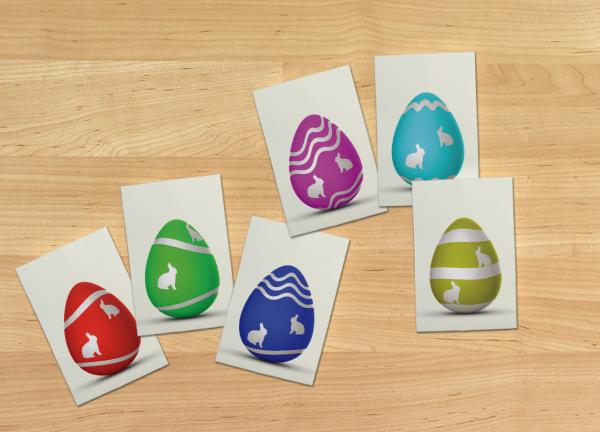 Spiele zu Ostern Spielkarten für Kinder