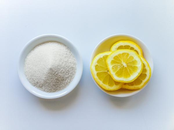 Sugaring selber machen Zitronensaft Zucker