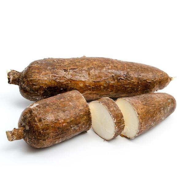 Tapioka - Aufschneiden und Backen oder Kochen